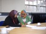 SWAN Chair & Treasurer working on fundingapplication